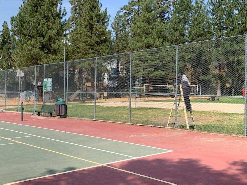 Big Bear Pickle Ball Court